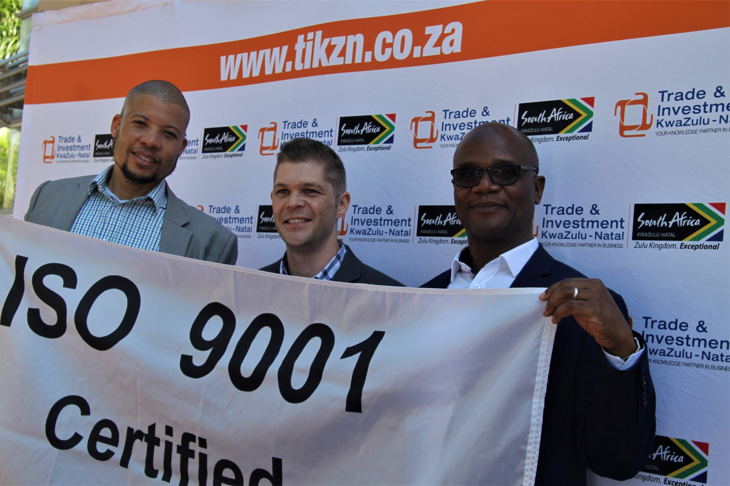 TIKZN joins the list of businesses internationally recognised for quality management systems